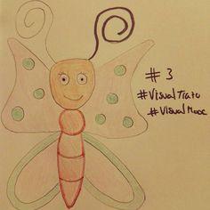 Hoy también me ha dado por los insectos #VisualTrazo #VisualMooc