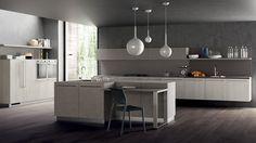 Scavolini kitchen mortar effect