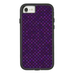 dots cross line curve design abstract shapes color Case-Mate tough extreme iPhone 7 case - gift for him present idea cyo design