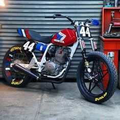 CHEETAH's Flat Track practice machine - RocketGarage - Cafe Racer Magazine