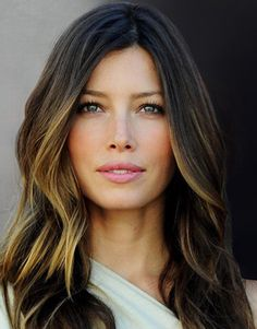 Ombre Hair Color - only pieces of the bottom are colored. Not every hair. Looks very elegant as opposed to the bottom of your hair being dipped in bleach.