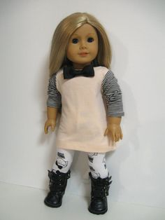 American girl doll clothes    Black Bows by 123MULBERRYSTREET