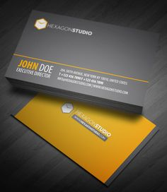 Hexagon Studio quick response business card is a clean and highly detailed textured business card design. High Quality Business Cards, Cool Business Cards, Professional Business Cards, Creative Business, Identity Design, Logo Design, Graphic Design, Corporate Identity, Visual Identity