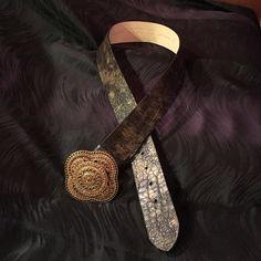 Belt Leather belt Chicos Accessories Belts