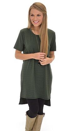 A perfect striped tunic that will satisfy all your heart's desires! Just $36 at shopbluedoor.com!