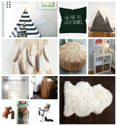 """Where The Wild Things Are"" Nursery Inspiration"