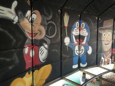 Mickey y doraemon