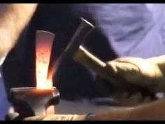 ABS YouTube Video - Master Smith Joe Keeslar demonstrates the forging techniques for his Brut de Forge knife. This is video 1 of 2  in a series where Master Smith Keeslar demonstrates every step in building a Brut de Forge knife from beginning to finish including forging, grinding, heat treating, handle, and finishing.
