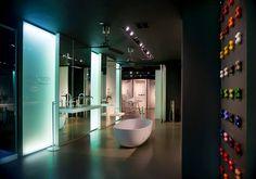 The Fantini Rubinetti Showroom in New York, NY.