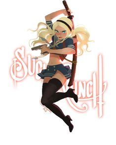 Sucker Punch by mjj Sucker Punch, Girls Characters, Female Characters, Character Concept, Character Art, Movies And Series, Cartoon Tv, Comics Girls, Film Serie