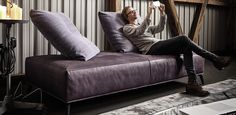 Lazy I Koinor Sofa Couch, Lazy, Lounge, Furniture, Home Decor, Chair, Homes, Airport Lounge, Decoration Home