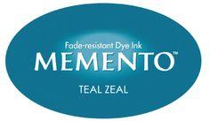 Tsukineko - Memento Dew Drop Teal Zeal