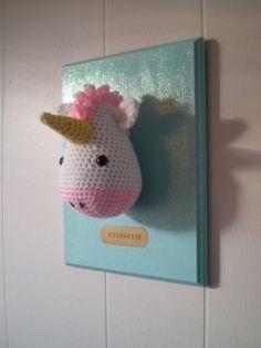 Whimsical Crochet Inspiration ~A Mounted Unicornis