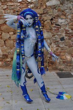 Shiva from Final Fantasy.
