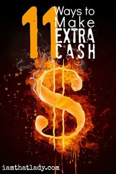 You are not stuck in your current financial situation - there is always a way to make extra cash. Here are 11 unique ways to make extra money (you've never heard of most of these!) via /iatllauren/