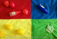 Come insegnare i colori ai bambini con il tappeto Montessoriano