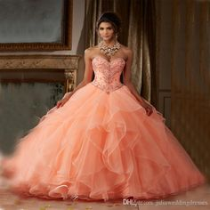 New Elegant Ball Gown Quinceanera Dresses 2017 Organza with Crystal Beaded Sweet 16 Dresses For 15 Years Debutante Gown QC276 Quinceanera Dresses Quinceanera Dresses 2017 Quinceanera Gowns Online with $200.0/Piece on Juliaweddingdresses's Store | DHgate.com