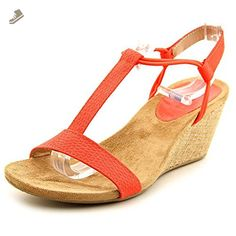Style & Co Mulan Women US 6 Pink Wedge Sandal - Style co pumps for women (*Amazon Partner-Link)