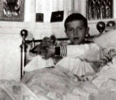 Царевич Алексей во время болезни