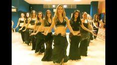 Ensayo Flashmob Escuela Danza Sara Guirado para Halloween Road