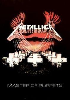 Heavy Metal Band Posters | Metallica Band Master OF Puppets Laminated Poster 61x91cm Heavy Metal ...