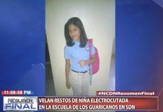 Velan Restos De Niña Electrocutada En La Escuela De Los Guaricanos En SDN
