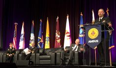 50 Years and Counting: Battle Against Tobacco Wages on for Military, Civilian Health Communities.  Acting United States Surgeon General, Rear Adm. Boris Lushniak addresses attendees of the 2014 Association of Military Surgeons of the United States (AMSUS) annual meeting during the opening session on Dec. 2, 2014 with a discussion on smoking and health.