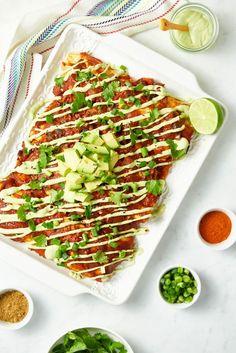 Next Level Vegan Enchiladas | oh she glows | Bloglovin'