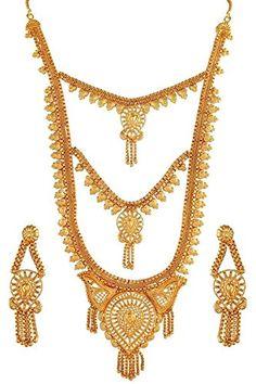 Elegant Indian Traditional Bridal Bollywood Gold Plated W... https://www.amazon.com/dp/B06Y26L78V/ref=cm_sw_r_pi_dp_x_hml6yb0WQ4FBD