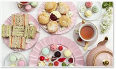 HIgh Tea at  Where a Girl Goes, Collingwood