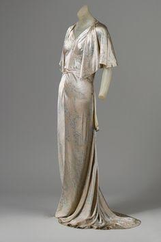 cape and dress, ca. 1931