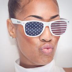American Flag Shades