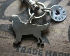 Labrador Retriever Custom Keychain Dog Lover. by tagsoup on Etsy