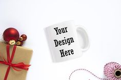 This listing is for a styled Christmas Mug Mockup stock photo which you can use to showcase your artwork or design in your online shop.Files are high resolution (300 DPI).