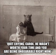 I wish I had a bear friend. They seem real nice.