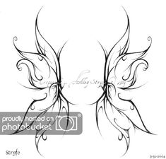 fairy wing tattoos wings are they double wings or maybe feathered ones Or maybe your fairy angel wings - angel wings tattoo designs. Fairy Wing Tattoos, Wing Tattoos On Back, Upper Back Tattoos, Back Tattoo Women, Gothic Fairy Tattoo, Tribal Tattoos For Men, Tattoos Skull, Body Art Tattoos, Tattoos For Guys