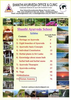 Ayurveda and Therapy School is an institute of introducing TraditionalAyurveda Panchakarma treatments for people all over the world.Location: Dharga Town