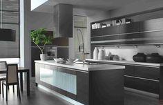 Image result for modern kitchens 2017 grey