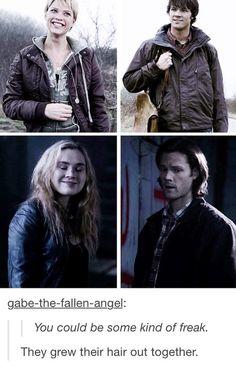 Meg and Sam   Supernatural