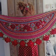 Dit weekend.....rood!! #red #roses #flowers #happycollors #love #shiny #handmade #create #crochet #warmth #owndesign