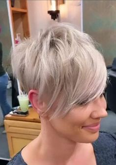 Want to see the best short hairstyle of all time? The latest.-Want to see the best short hairstyle of all time? The latest Pixie haircut pictures are here. Want to see the best short hairstyle of all time? The latest Pixie haircut pictures are here. Short Pixie Haircuts, Pixie Hairstyles, Short Hairstyles For Women, Haircut Short, Cool Haircuts, Short Cropped Hairstyles, Short Hair Cuts For Women Over 50, Short Hair Over 50, Short Pixie Cuts