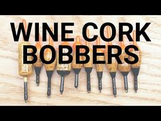 How to make fishing bobbers (floats) from wine corks. These are slip-style bobbers. Drill Lathe Video: How to make fishing Best Fishing Boats, Fishing Rigs, Fishing Bobbers, Fishing Stuff, Fly Fishing, Diy Crafts To Do, Upcycled Crafts, How To Makw, Fish Chart