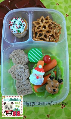 My Epicurean Adventures: Jolly Holiday Blog Hop 2013 - Super Simple and Fun Holiday Lunches #Easylunchboxes