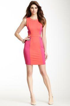 A.B.S. Studded Colorblock Dress on HauteLook