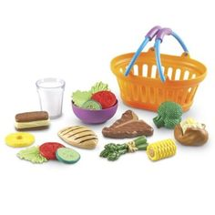 Amazon.com: Learning Resources New Sprouts Dinner Basket: Toys & Games