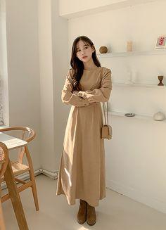 Pakistani Fashion Casual, Korean Fashion Dress, Korean Dress, Kpop Fashion, Casual Dress Outfits, Korean Style, Dress Ideas, New Dress, Vogue