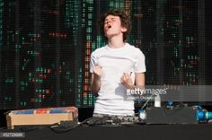 News Photo : Madeon performs on stage at Global Gathering at...