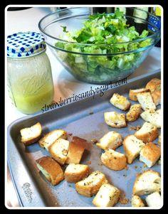 Brannon's Caesar Salad #breadandwine