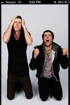 3oh!3 I liked them <---------- ummmm, no. LIKE. Not liked, they're still around.