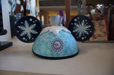 New double sided Frozen hat